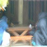 2004-04 April 027 - Mysterious Meeting